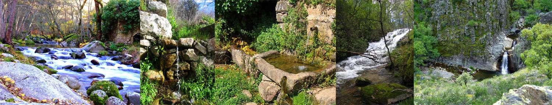 Rivières et fontaines de la Sierra de Francia