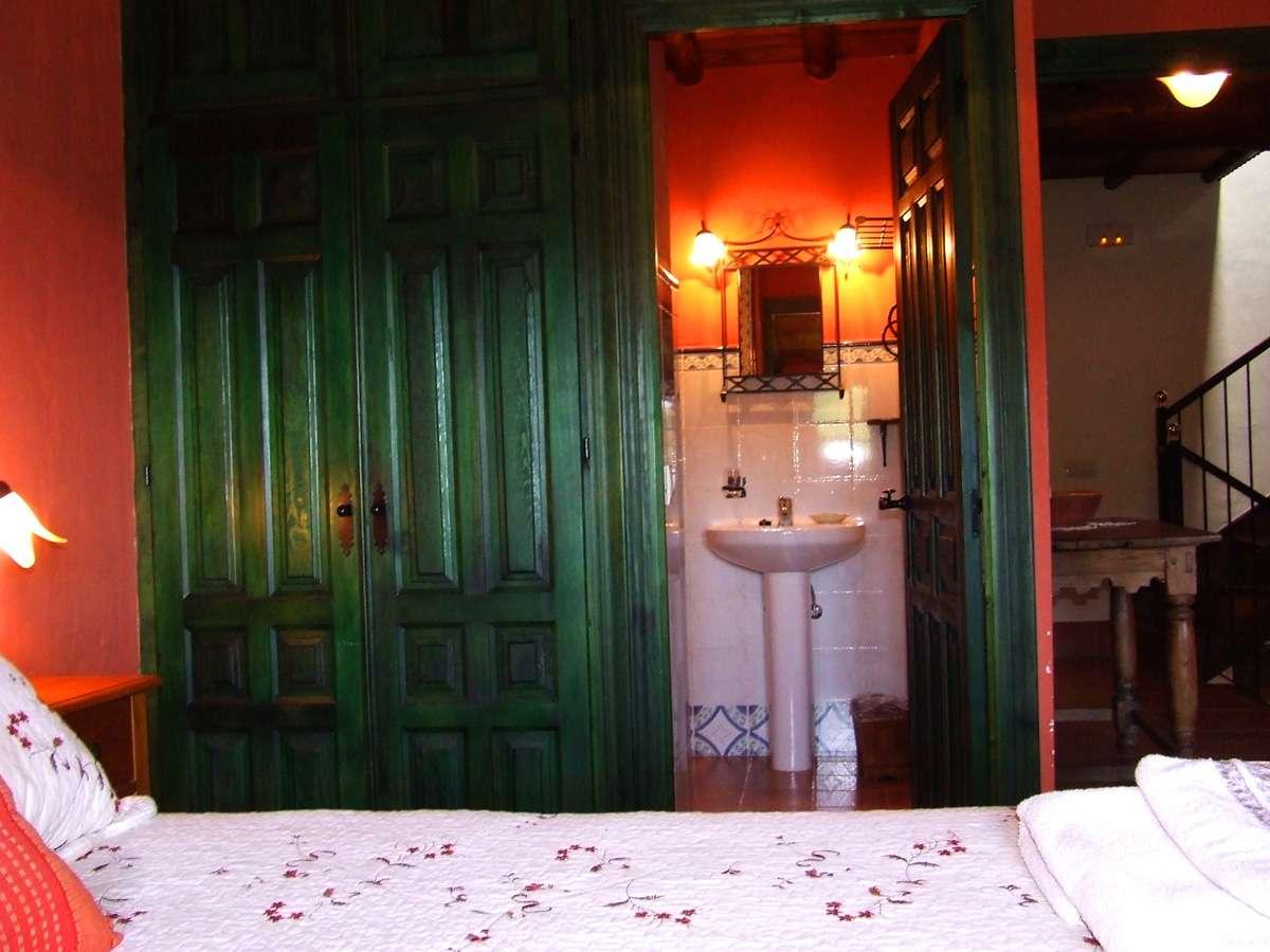 baño privado en habitación