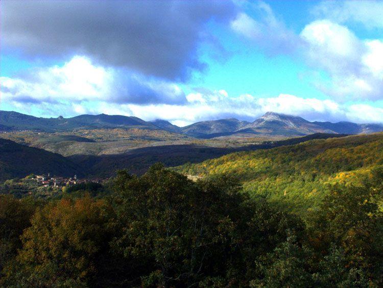 La Sierra de francia en automne