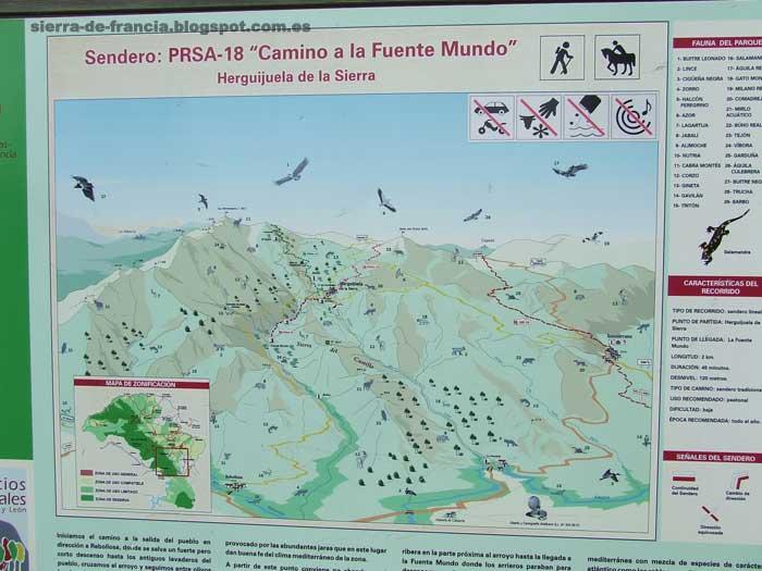 Herguijuela - Fuente del Águila