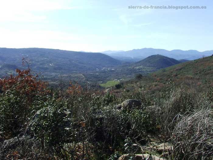 vistas des los montes de san esteban