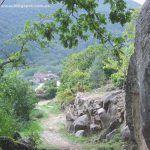 Camino Asentadero Bosque de los espejos: Sequeros-Casas del Conde-San martín del Castañar