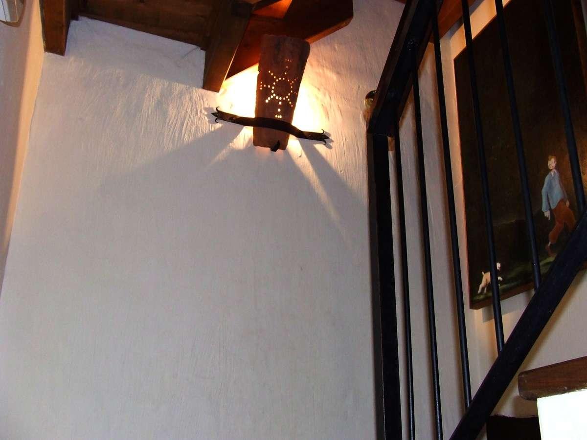 escalera casa la fuente