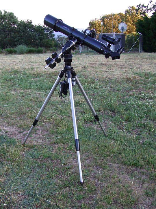refractor de 120 mm