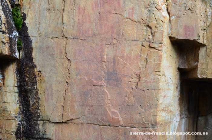 Pinturas rupestres en las Batuecas