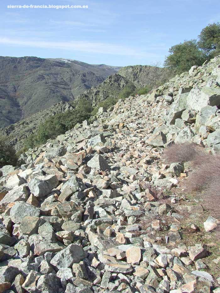 canchal de piedra en quilamas