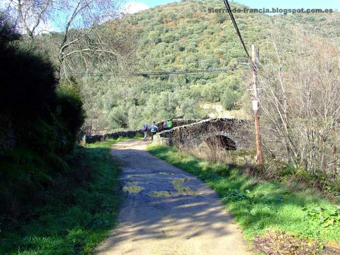 puente antiguo en san esteban de la sierra