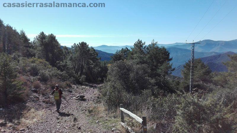 salida de la ruta portillo - monasterio de las batuecas