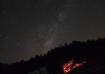astronomía en la sierra de francia