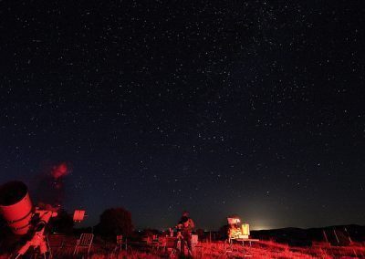telescopios y cielos