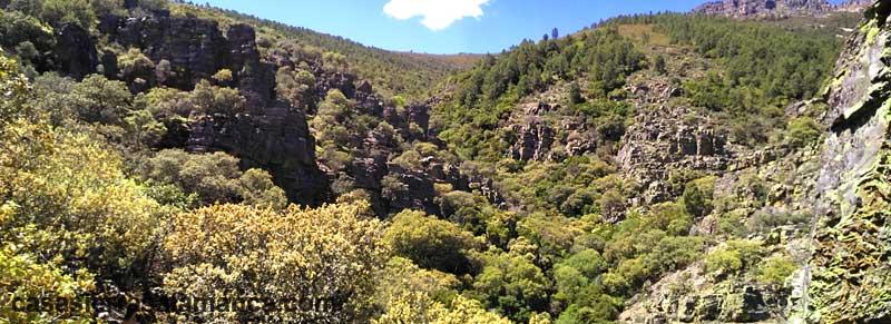 valle perdido cerca de herguijuela