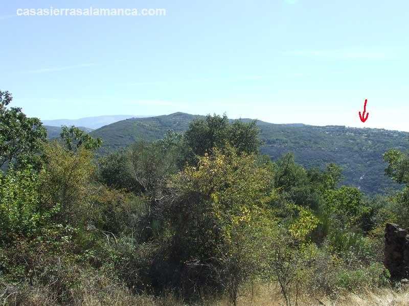 vista del pueblo de Pinedas