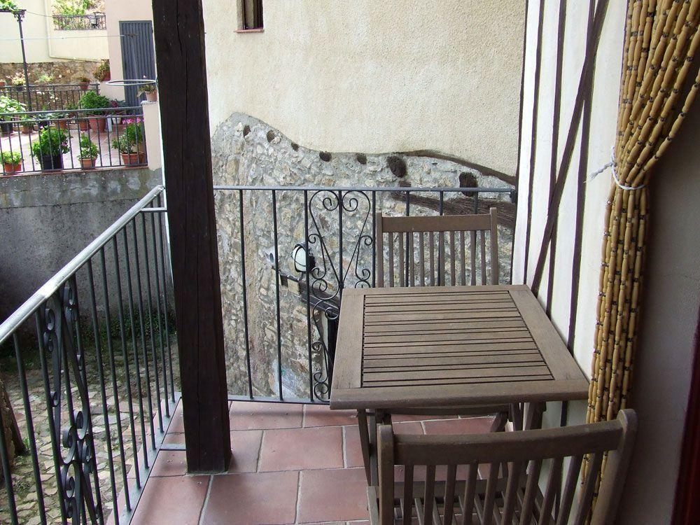 balcón de la casa