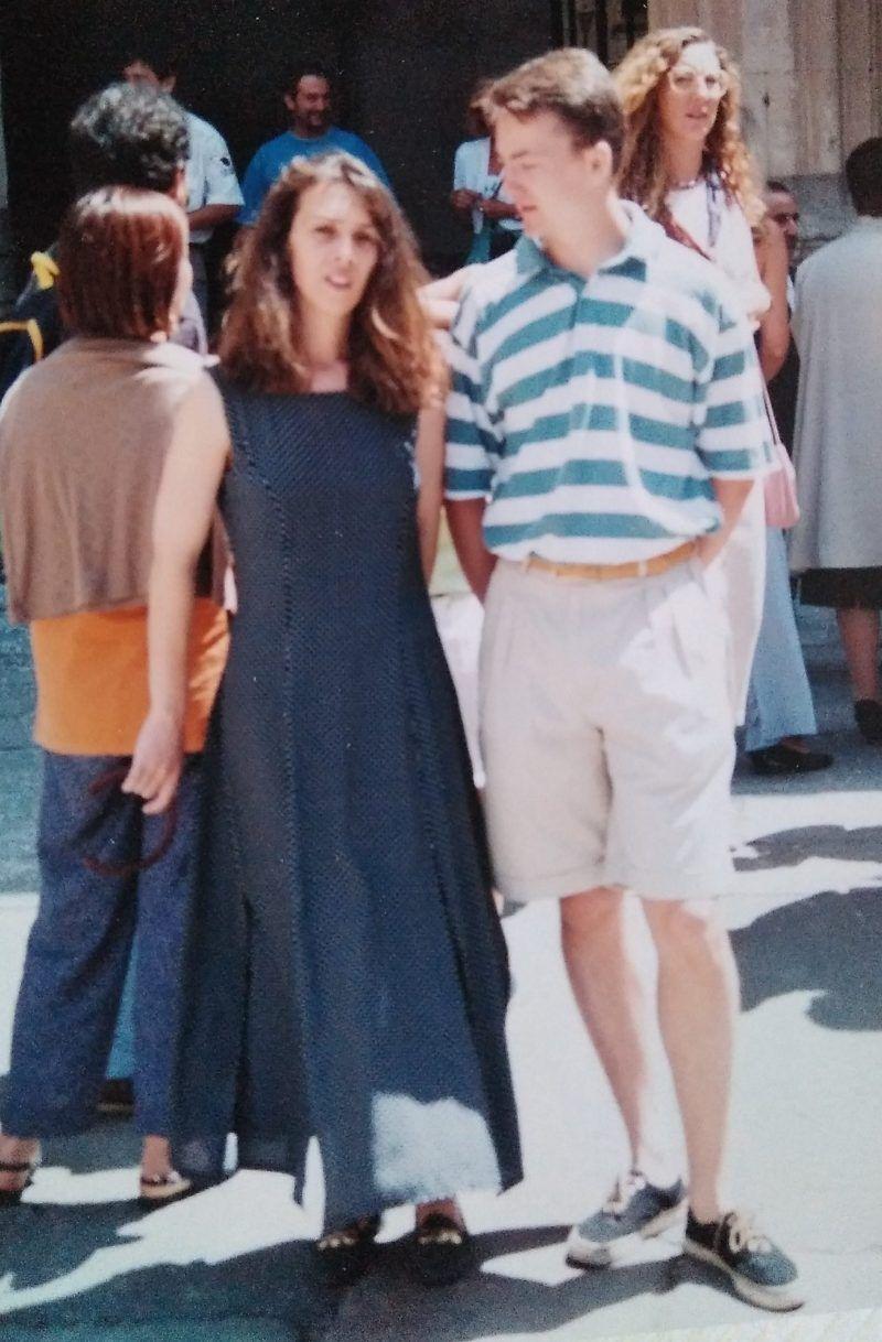 frederic y angela en los años 90